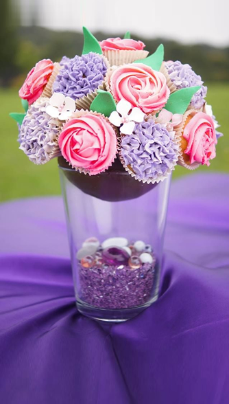 Yviescupkakes bouquets